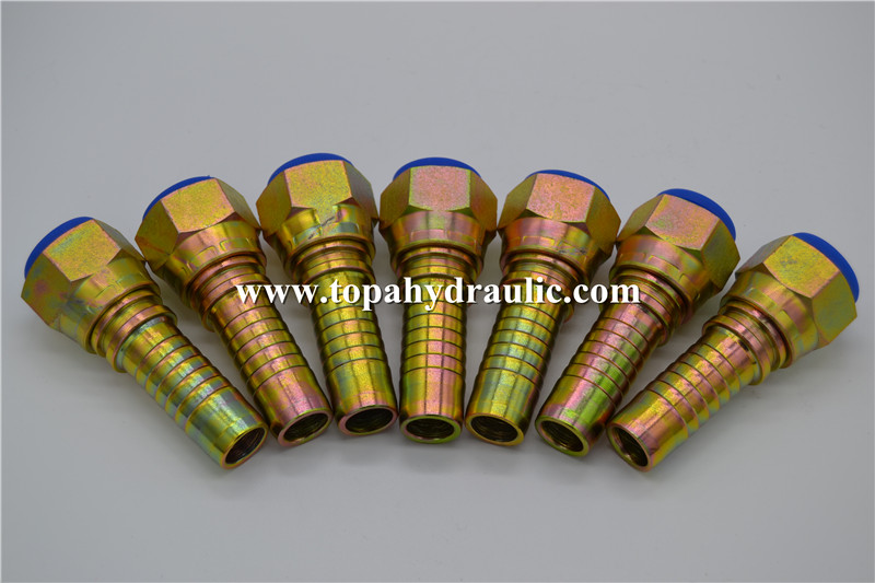 26712 12 12 Galvanized High Precision Hydraulic Fitting