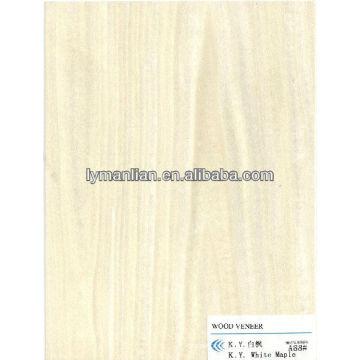 chapa de madera de arce blanco