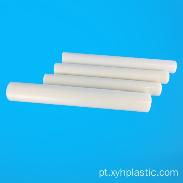Barra redonda do preto POM Acetal