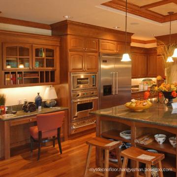 Cherry Solid Wood Kitchen Cabinet Designs