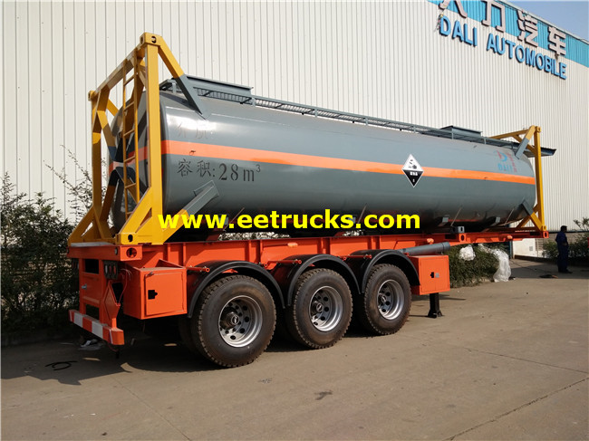 Sulfuric Acid Tank Containers