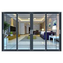 Usado comercial holandês varanda porta vidro duplo design