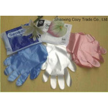 Disposable OEM Color HDPE Gloves Plastic Glove