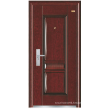 European Simple Panel Steel Security Door