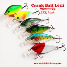 Señuelo de pesca colorido Crank Bait
