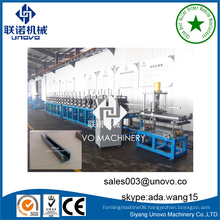 roll forming machine for solar structure steel section production