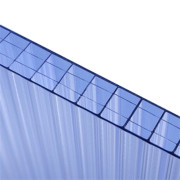 Hollow Wall Panel Polycarbonate Roofing Sheet Price List