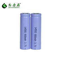 Atacado 14500 li bateria iônica de lítio-ion 3.7 v bateria 800 mah