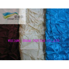 Nylon Polyester taffeta Crinkled Fabric