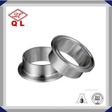 Fermeture en acier inoxydable sanitaire en acier inoxydable à coupe triangulaire 14mmp