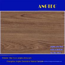 Plancher en plastique, plancher en rouleau commercial de PVC