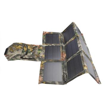Chargeur de téléphone solaire en tissu étanche 31.5W