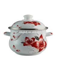 grandes ollas de cocina grandes del pote del cuerpo del esmalte de piedra