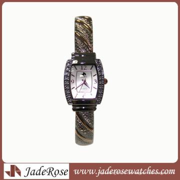Klassische Art-Legierungs-Uhr-Damen-Uhr