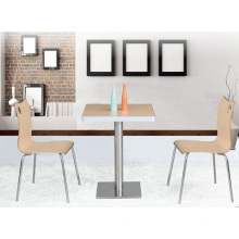 Indoor Furniture Modern Square Dining Table (FOH-BC08)