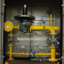 Pressure regulating stations/gas-regulating equipment