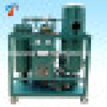 Planta de reanimación de aceite de turbina de vapor negra de alto rendimiento superior (TY)