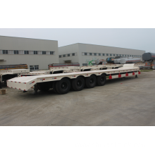 China for 60 Ton Low Bed Semi-trailer 4 axle 100Ton low bed truck semi-trailer supply to Antarctica Factories