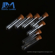 Wholesale 1ml Empty Clear Glass Test Tube With Wooden Cork