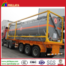 China Manufactured 43.6cbm Chemical Liquid Tank