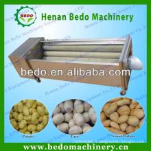 2014 Chine meilleur fournisseur de pommes de terre nettoyage machine à peeler / pomme de terre lavage machine à laver / pomme de terre brosse à laver