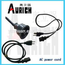 Cables de alimentación de casa a tierra UL 125V