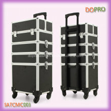 Black 4 in 1 Professional Make up Artist Trolley Case (SATCMC003)