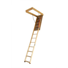 Deluxe Wooden Folding Loft Ladder