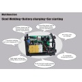 Multi welder with battery charger car starting max car starter output 400A