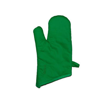KEFEI hot sale double sided green quilting oven mitt
