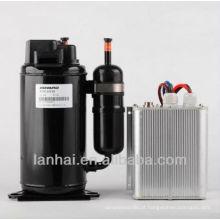 Mini compressor da freon bldc R134a C.C. 12V para geladeira HB075Z12 para condicionador de ar solar carro 5000 btu