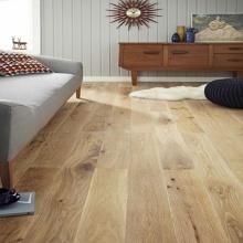 Gebürstet weiß geölt entwickelt Eiche Holzboden