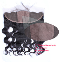 Parting Free 13x4 Silk Base Closures Dentelle Frontal Body Wave