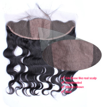 Free Parting 13x4 Silk Base Closures Lace Frontal Body Wave