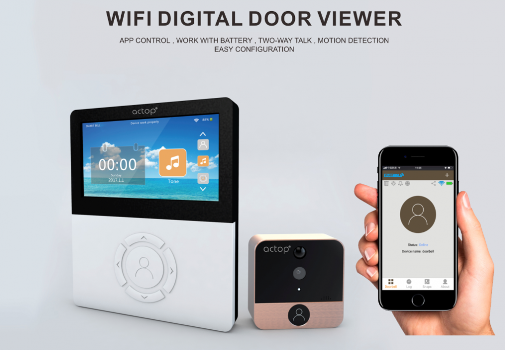 Wireless Video Doorbell Camera