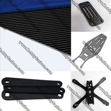 Placa de fibra de carbono de 4.0 mm para marcos FPV