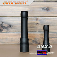 Maxtoch DI6X-2 tiempo de pasada largo impermeable LED Cree buceo