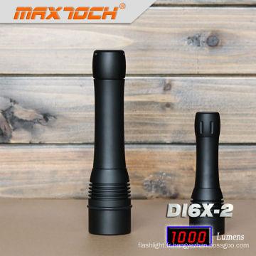 Maxtoch DI6X-2 plongée lumière Led 2012