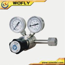 Regulador de CO2 de alta presión del aire del aire del acero inoxidable