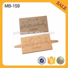 MB159 Fashion Metal Label für Frauen Tasche Making Zubehör Dekoration Metall Tag mit benutzerdefinierten Logo
