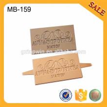 MB159 Moda Metal Etiqueta Para Las Mujeres Bolsa De Fabricación De Accesorios Decoración Metal Etiqueta Con Logotipo Personalizado
