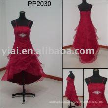 2010 fabricação de vestuário sexy vestido de festa feminino PP2030