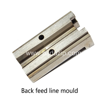 High Quality Metal Zipper Machine Mould