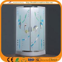 Узорчатое стекло красочные душ (АДЛ-8048)