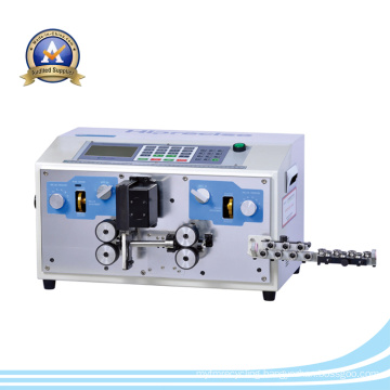 High Efficiency Automatic Wire Stripping Machine / Cable Wire Making Equipment
