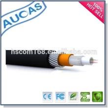 Câble fibre optique GYTY / GYTA / câble monophasé à fibre optique à mode unique / câble câblé extérieur
