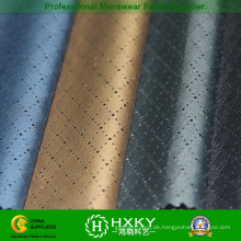 Polyester Pongee Stoff mit Diamond Mesh-Loch-Muster