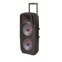 Altavoz de batería doble de 10 pulgadas en audio profesional para DJ Stage F73D