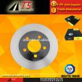 Rotor de freio de disco para fabricante de sistema de freio de disco de freio ventilado JEEP