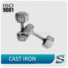 Custom iron dumbbell for house using